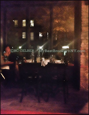 The Vanderbilt Restaurant DiningRoom View - Prospect Heights Brooklyn NY