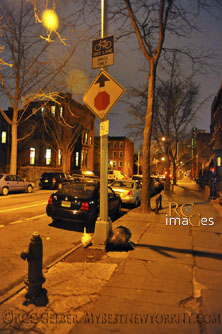 Brooklyn Street, night photo