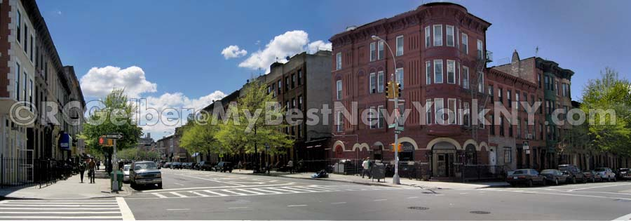 Corner of Vanderbilt Ave & Bergen Street, Prospect Heights
